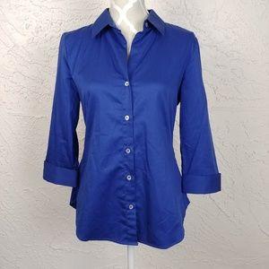 Banana Republic Sapphire Blue Button Down Shirt